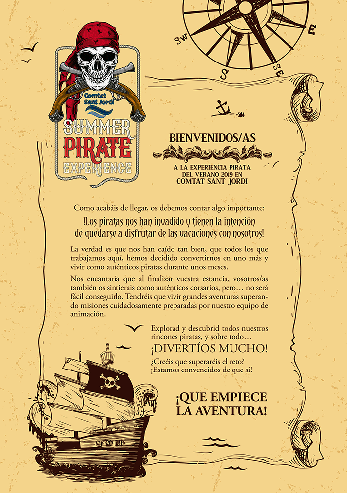 Summer pirate experience